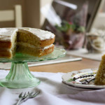 orange blossom cake with cream cheese frosting