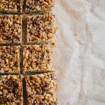 hazelnut butter rice crispy treats