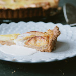 apple and honey tart
