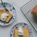bitter orange & olive oil cake