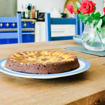 apricot and chocolate buckwheat cake