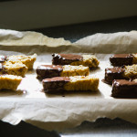 chocolate-dipped hazelnut biscotti