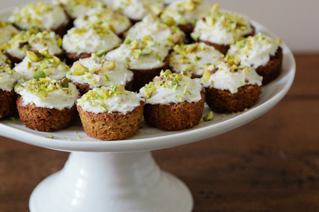 Carrot and Pistachio Cakes 3