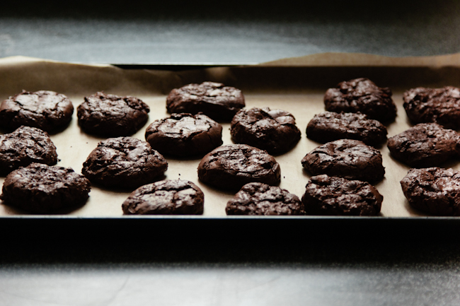 Salted Chocolate Cookies 3