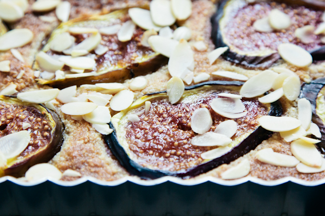 fig and almond torte | london bakes