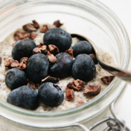 vanilla chia pudding from 'at home in the whole food kitchen'