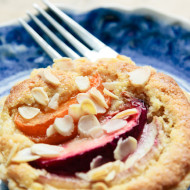 mixed stone fruit + almond tarts {gluten free}