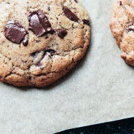 buckwheat chocolate chip cookies {gluten free}